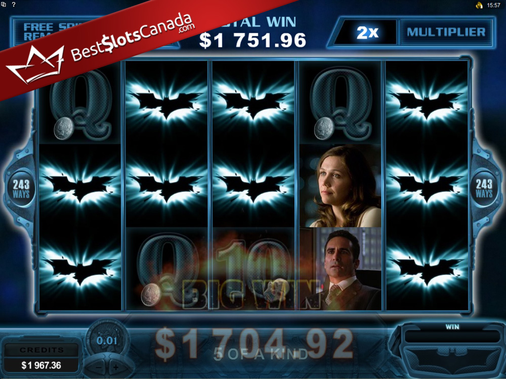 The Dark Knight Slot Bonus Mega Big Win