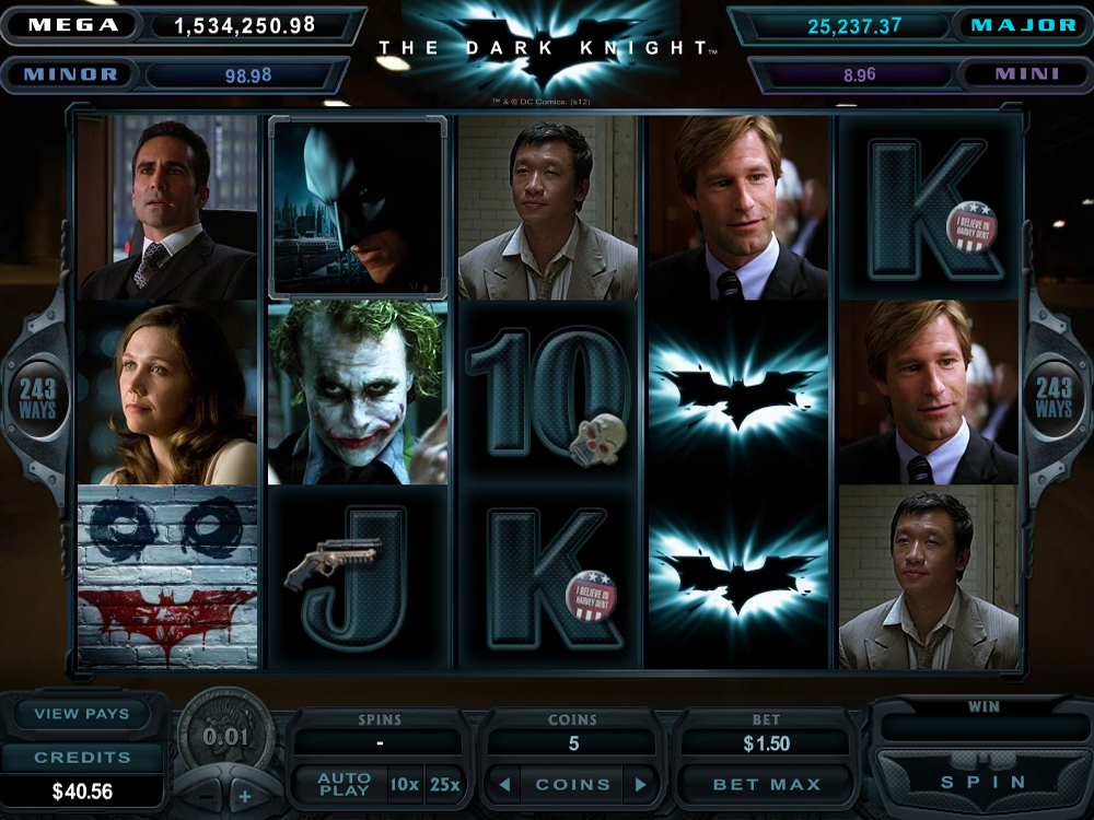 The Dark Knight Slots - Free & Real Money The Dark Knight Slot Game