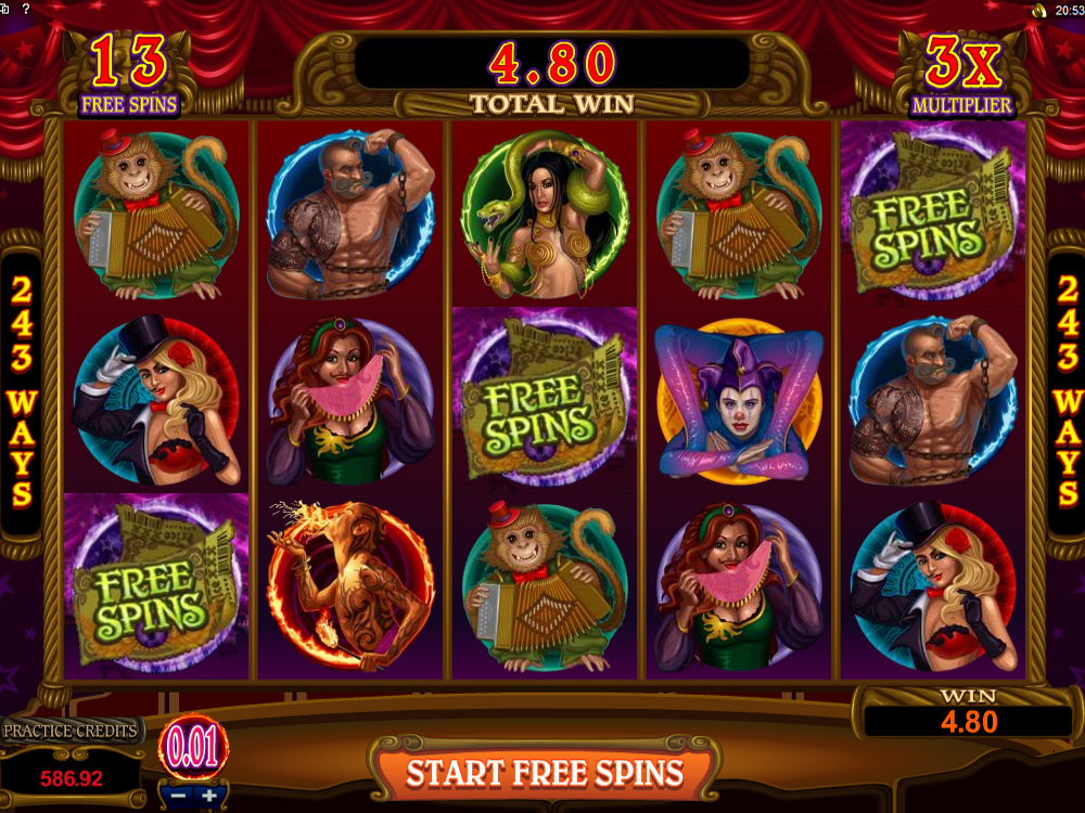 Spiele The Twisted Circus - Video Slots Online